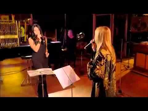 Lara Fabian  &  Anggun   -  Tu  Es Mon Autre    -   In Live   -  2012  -