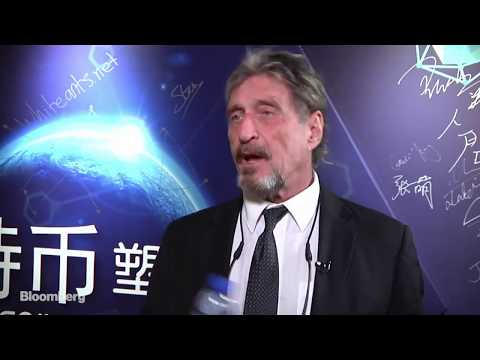 John McAfee say f*k China Bitcoin & Ethereum is stronger then ever!!