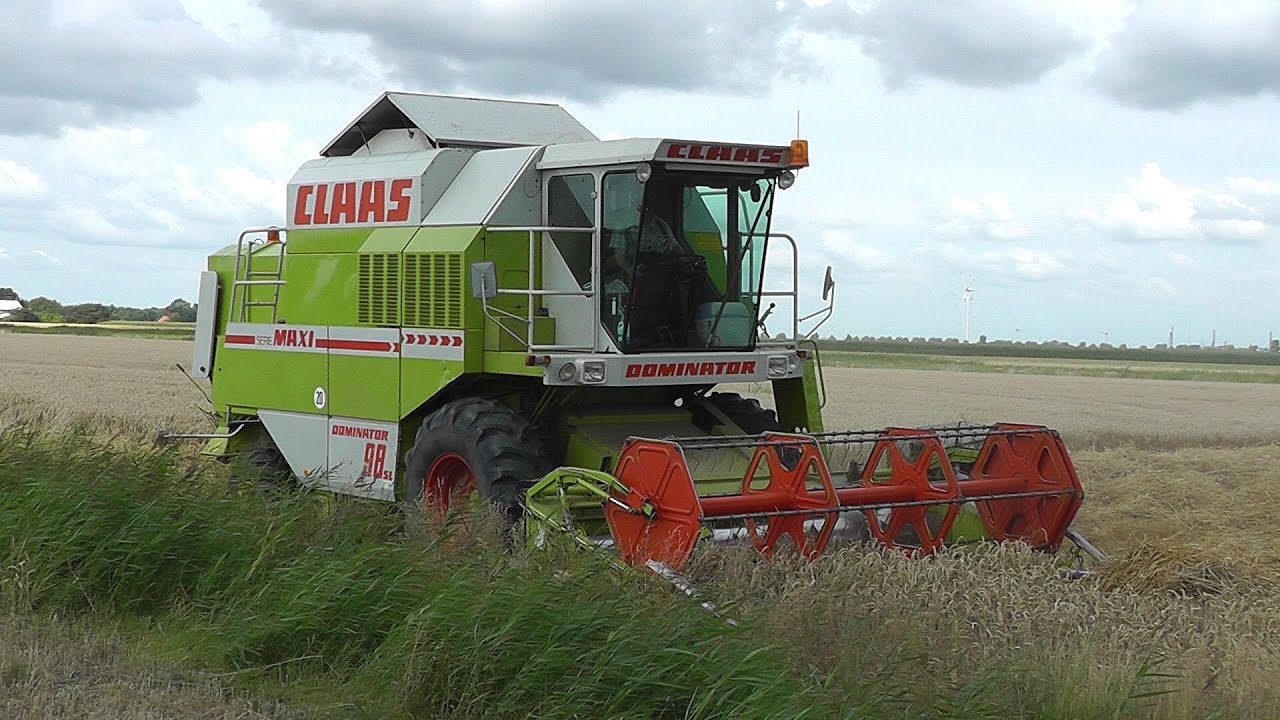 Mahdrescher Claas Dominator 98 Sl Youtube