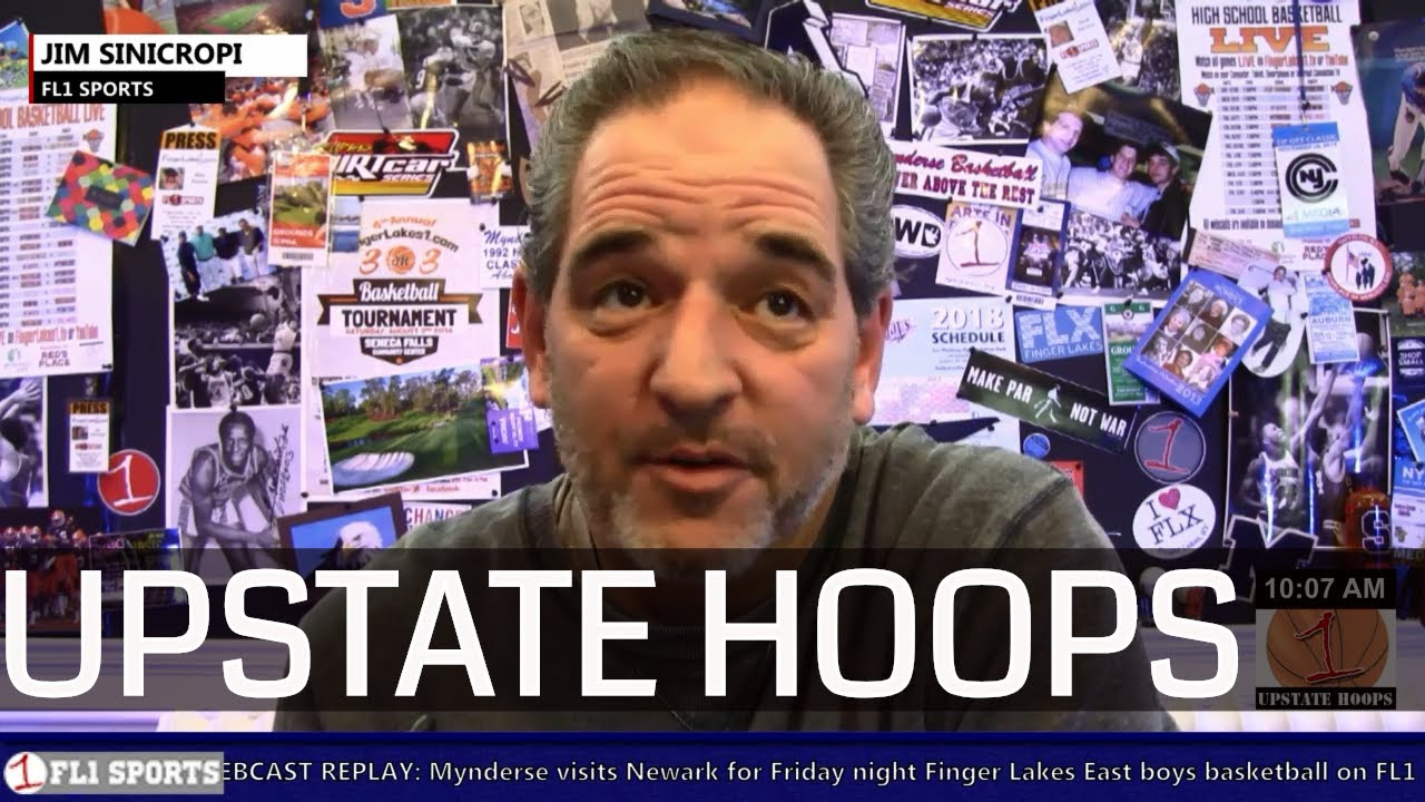 Winter Storm Wayne-Finger Lakes Rundown .::. Upstate Hoops Podcast 1/20/19