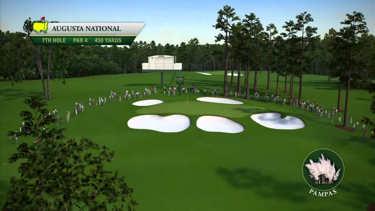 Course Flyover: Augusta National Golf Club - YouTube