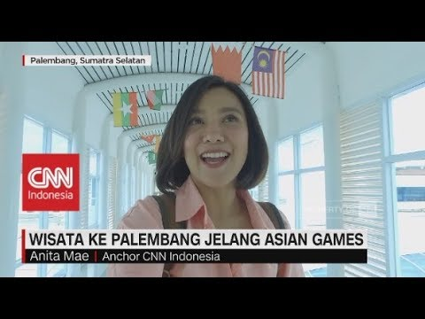 Wow Palembang! Wisata Jelang Asian Games, Dari LRT Sampai Pempek