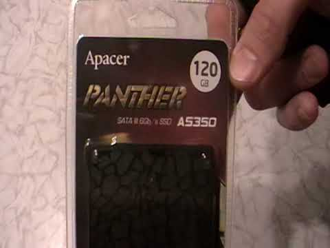 "Apacer AS350 Panther 120GB 2.5"" SATAIII TLC (AP120GAS350-1)"