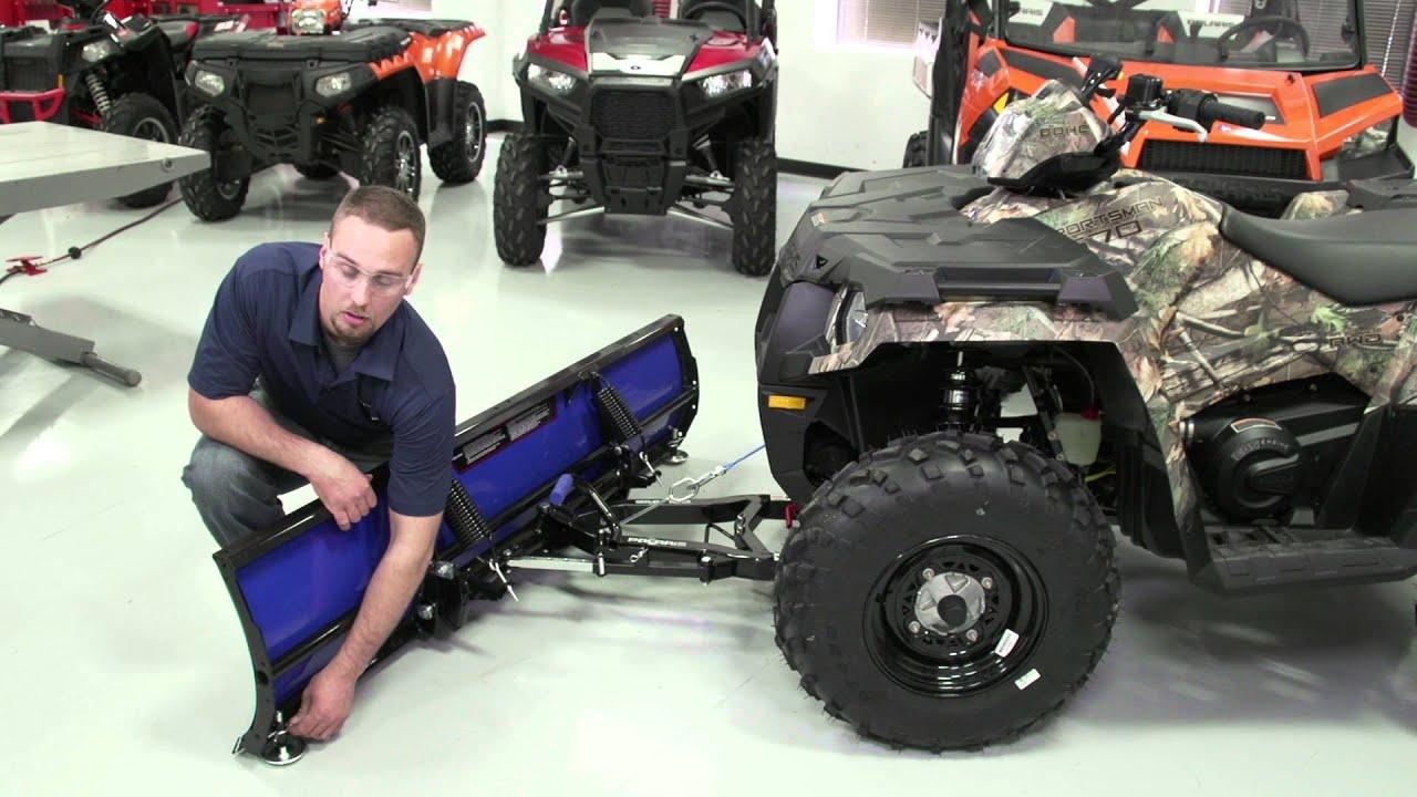Glacier® Pro HD Plow System Install ATV | Polaris Off-Road Vehicles