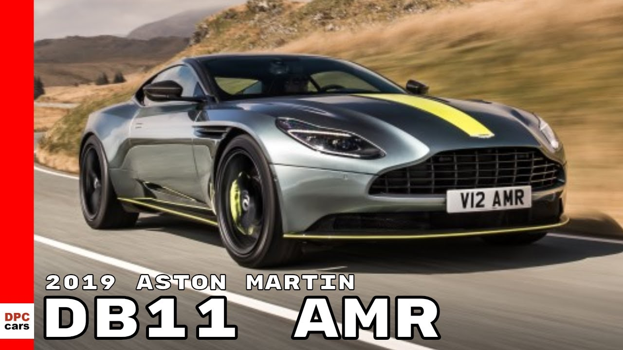 2019 Aston Martin DB11 AMR: This GT wants to play