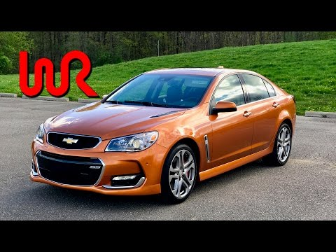 2017 Chevrolet SS (6-Speed Manual) - POV Test Drive & Review