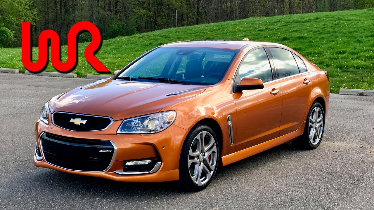 2017 Chevrolet Ss 6 Sd Manual Pov Test Drive Review