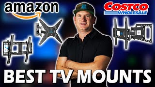 Best TV Mounts on Amazon and Costco + Mantel Mount info