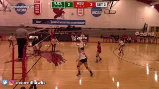 Montclair State Volleyball Highlights vs. NJCU - 9/18/18