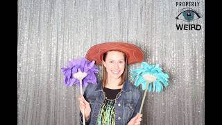 2-17-18 Bremen Sewell Mill Photo Booth - Open House Bridal Show Event - Properly Weird