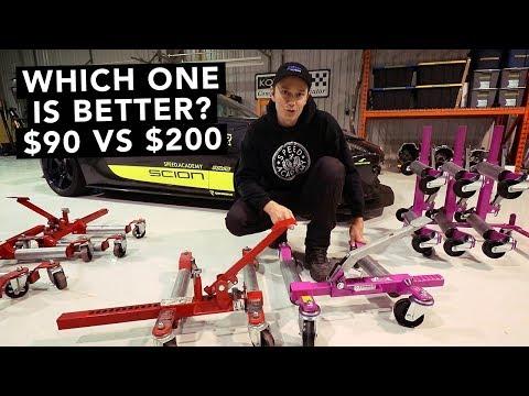 Harbor Freight vs GoJak Car Dollies Test & Review