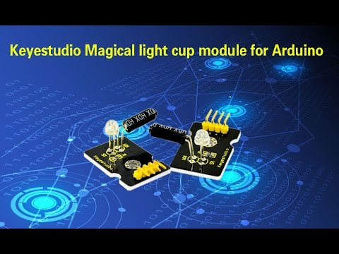 Ks0030 Keyestudio Magical Light Cup Module Youtube