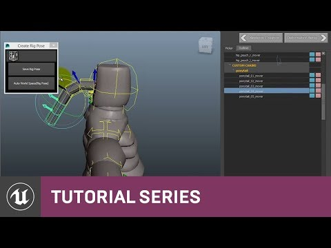 UE4 - Animation and Rigging Toolkit tutorial - Unreal Engine 4