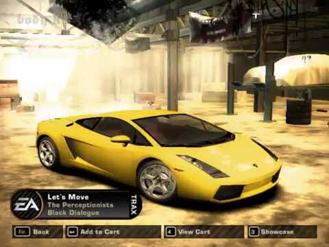 NFS Most Wanted: Tuning A Lamborghini Gallardo