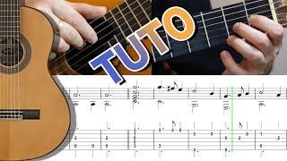 EASY TUTO - GREENSLEEVES - Guitar FingerStyle