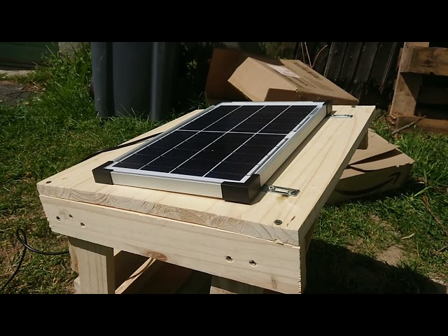 Our French Adventure - Wood work and Solar power