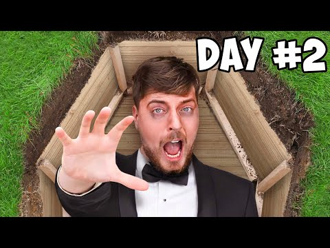 50 hours, 50 million views: United States Youtuber buried alive in a casket