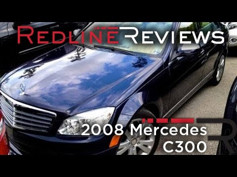2008 mercedes c300 walkaround start up rev review. Black Bedroom Furniture Sets. Home Design Ideas