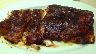 BBQ Ribs How to Cook -- Make Barbecue Marinade Sauce Dip
