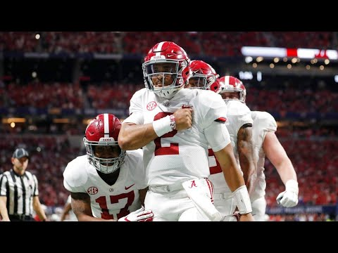 Alabama Vs Georgia Highlights 2018 SEC Championship
