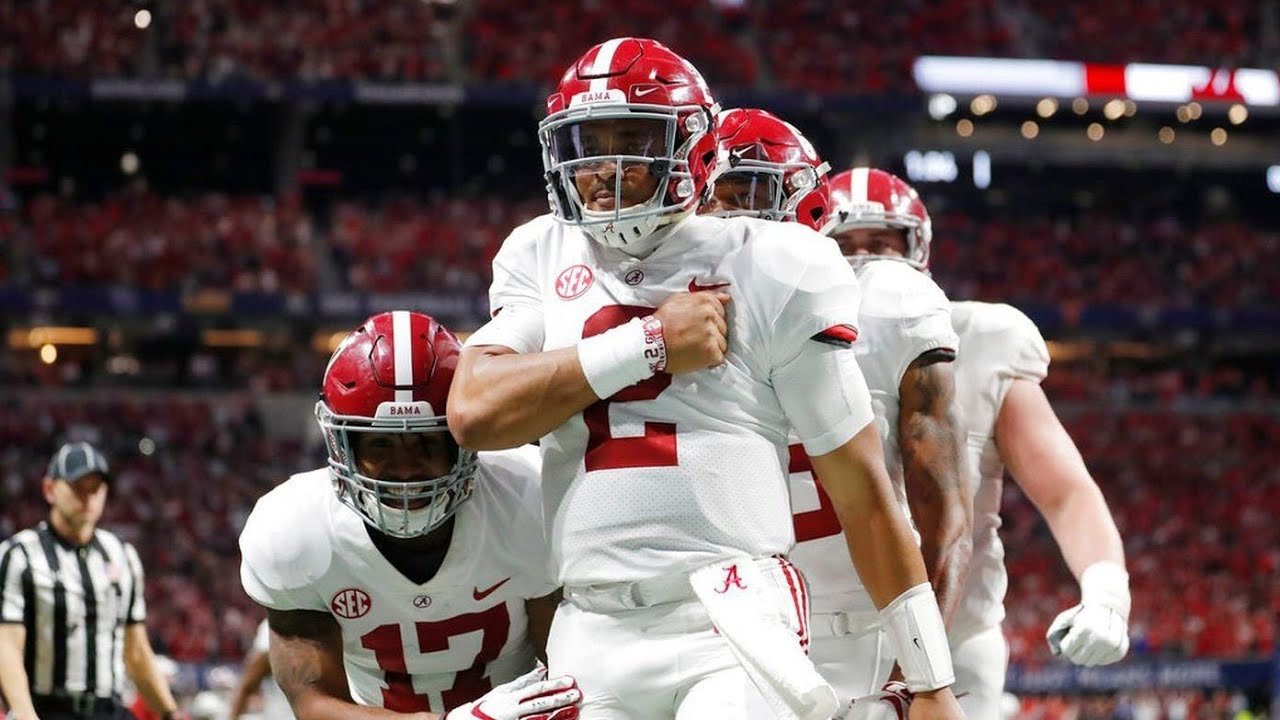 Alabama Vs Georgia Highlights 2018 SEC Championship - YouTube