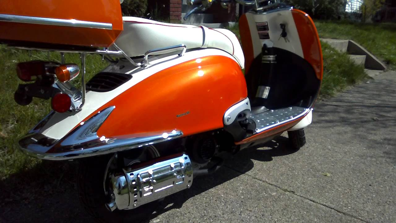 Amore 50 Made By Znen orange and white