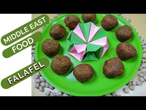 How to Make Middle East Food Falafel   Falafel Bangla Recipe   ফালাফিল। #RinasCooking-59