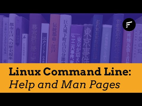 Linux Command Line: Getting Help and The Man Pages