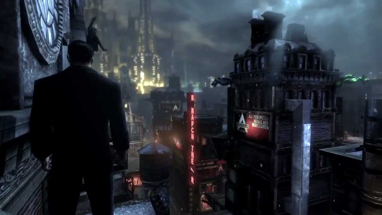 Batman Arkham City - Walkthrough Ep.1 Bruce Wayne Escape ...