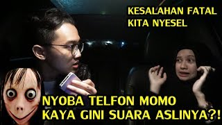 JANGAN PERNAH COBA TELFON MOMO ! INI YANG AKAN TERJADI ! TEROR MOMO CHALLENGE !