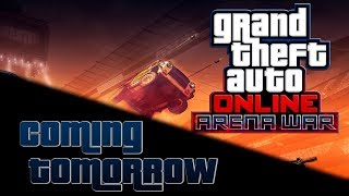 GTA Online: Arena War Update Coming Tomorrow