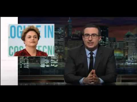 Last Week Tonight With John Oliver - Brazil President Dilma Rousseff Impeachment - legendas em port.