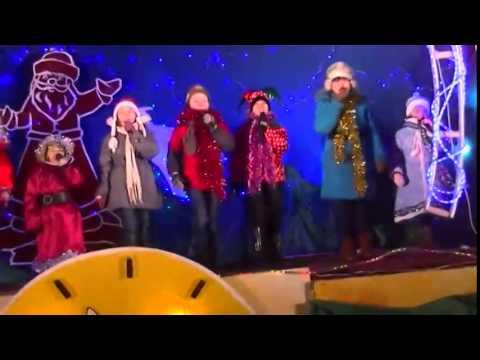 Хор Яркие Звезды (Аркадак новый год 2015) - Новогодняя  ( Cover дискотека Авария)