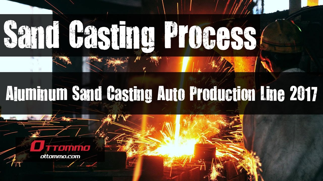 appropriate sand production process is crucial And the operation process of each section (ie sand mold, core it is important to manufacture the analysis plant layout design for effective production.