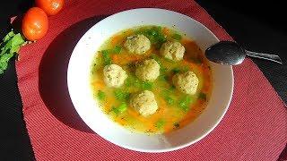 ✅Рисовый суп с куриными фрикадельками❗️ СЫТНЫЙ, ВКУСНЫЙ  супчик для всей семьи 👨👩👧👦 ❗️