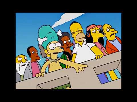 The Simpsons: Moe tries to commit suicide [Clip]