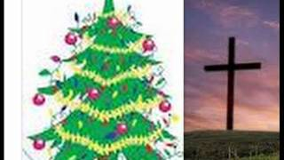 Christmas Tree & Cross   Not Christian Symbols