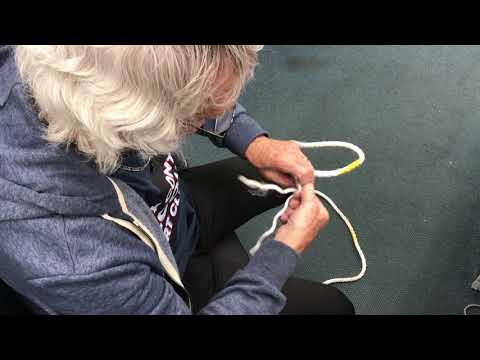 How to splice a loop into rope David Yates tutorial