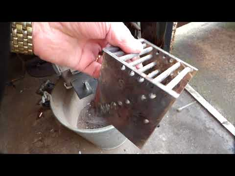 rocket stove boiler up date 22/03/2018 No.35