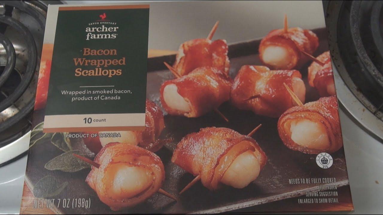 Oven Mania  Archer Farms Bacon Wrapped Scallops