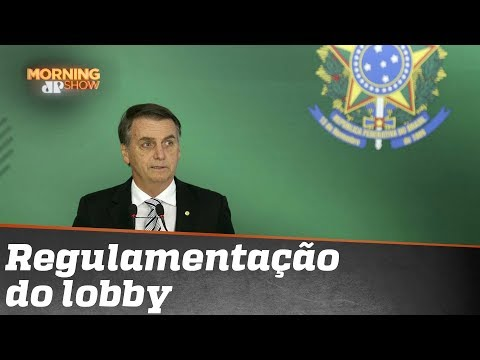 Governo Bolsonaro quer regulamentar lobby