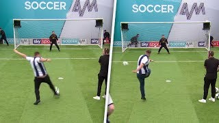 West Brom fans embarrass themselves with the WORST volleys!!! | Soccer AM Volley Challenge
