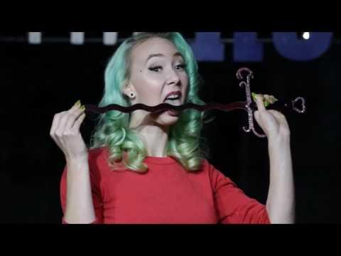 Sword Swallower Juliette Electique Performance + Interview