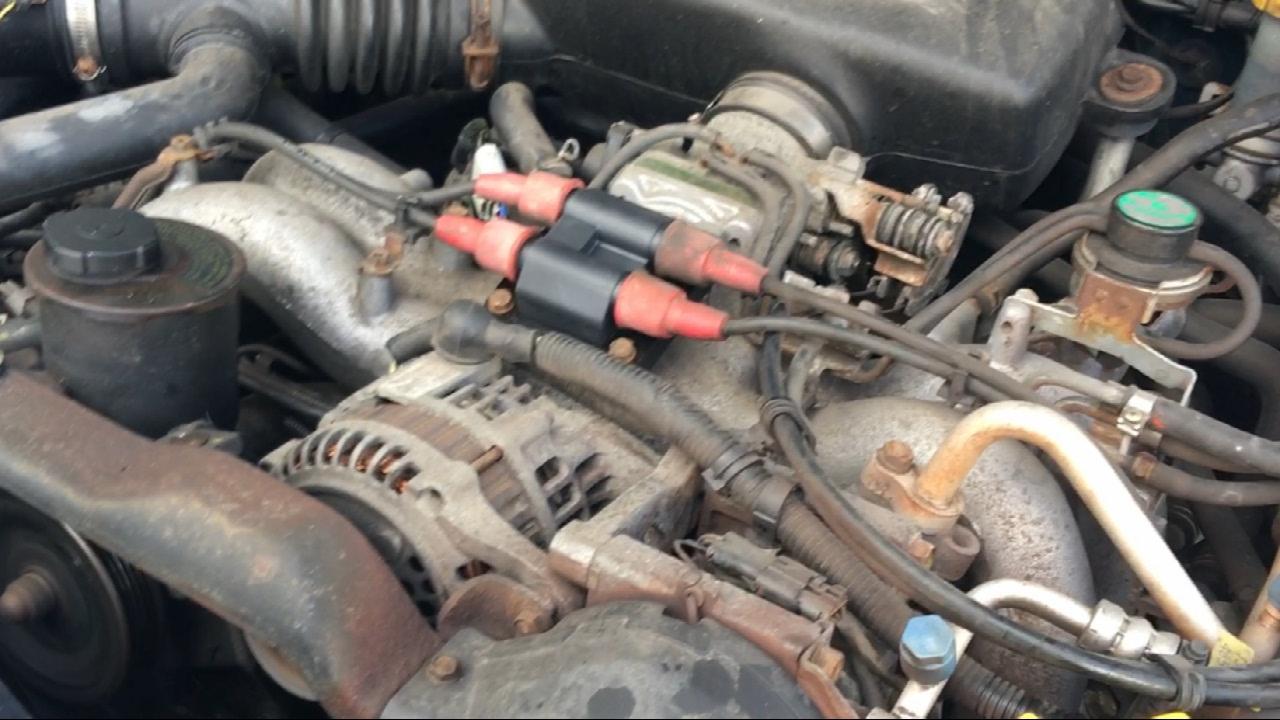 למעלה 97 Subaru Legacy Outback Coil Pack Replacement - YouTube OU-56