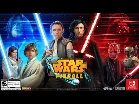 Just AMAZING! The Same Star Wars Pinball on the Arcade1Up is on Nintendo Switch! Zen Studios from NolaFam Arcade