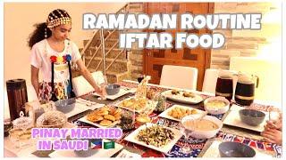 PINAY ARAB   RAMADAN ROUTINE 2021   WHAT WE EAT ON IFTAR