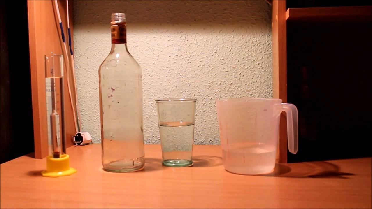 как приготовить по технологии из 1-го литр спирта водку?