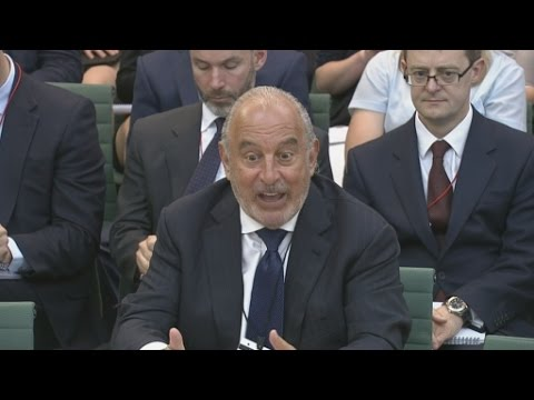 Highlights from Sir Philip Green's quarrelsome day in front of MPs