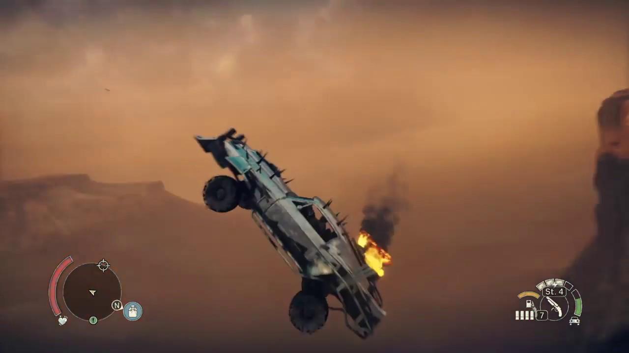 Mad Max Wie Ist Die Luft Da Oben Maximum Air Air Time 5 Sec
