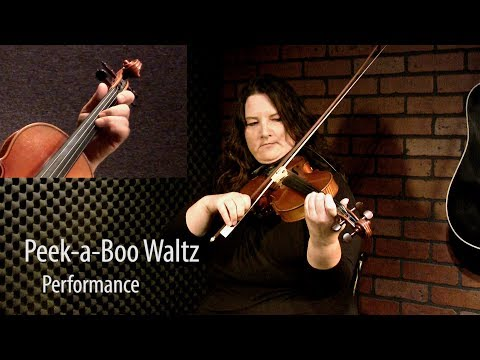 Peek-A-Boo Waltz - Canadian Fiddle Lesson by Patti Kusturok